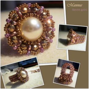 Romantic ring with superduo
