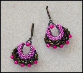 Little basket earring